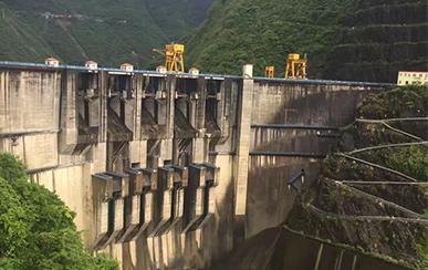 重庆武隆罗洲坝水水电站